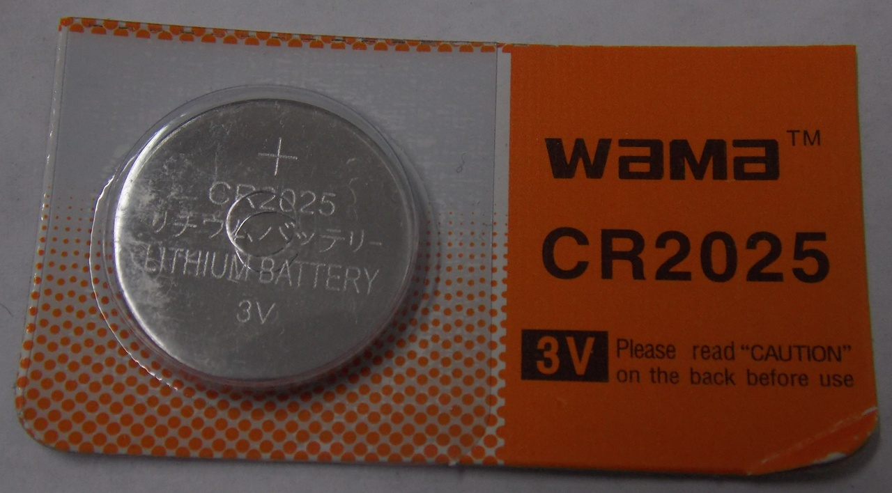 BBW CR2025 3V Lithium Coin Battery