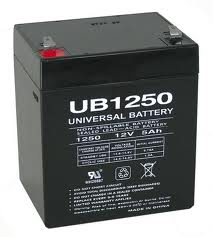 UB1250 12 Volt 5 AMP SLA/AGM Battery 8 Pack + FREE SHIPPING!