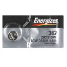 Energizer 362/361 - SR721 Silver Oxide Button Battery 1.55V