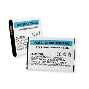 LG ENLIGHTEN / VS700 3.7V 1200mAh LI-ION BATTERY + FREE SHIPPING