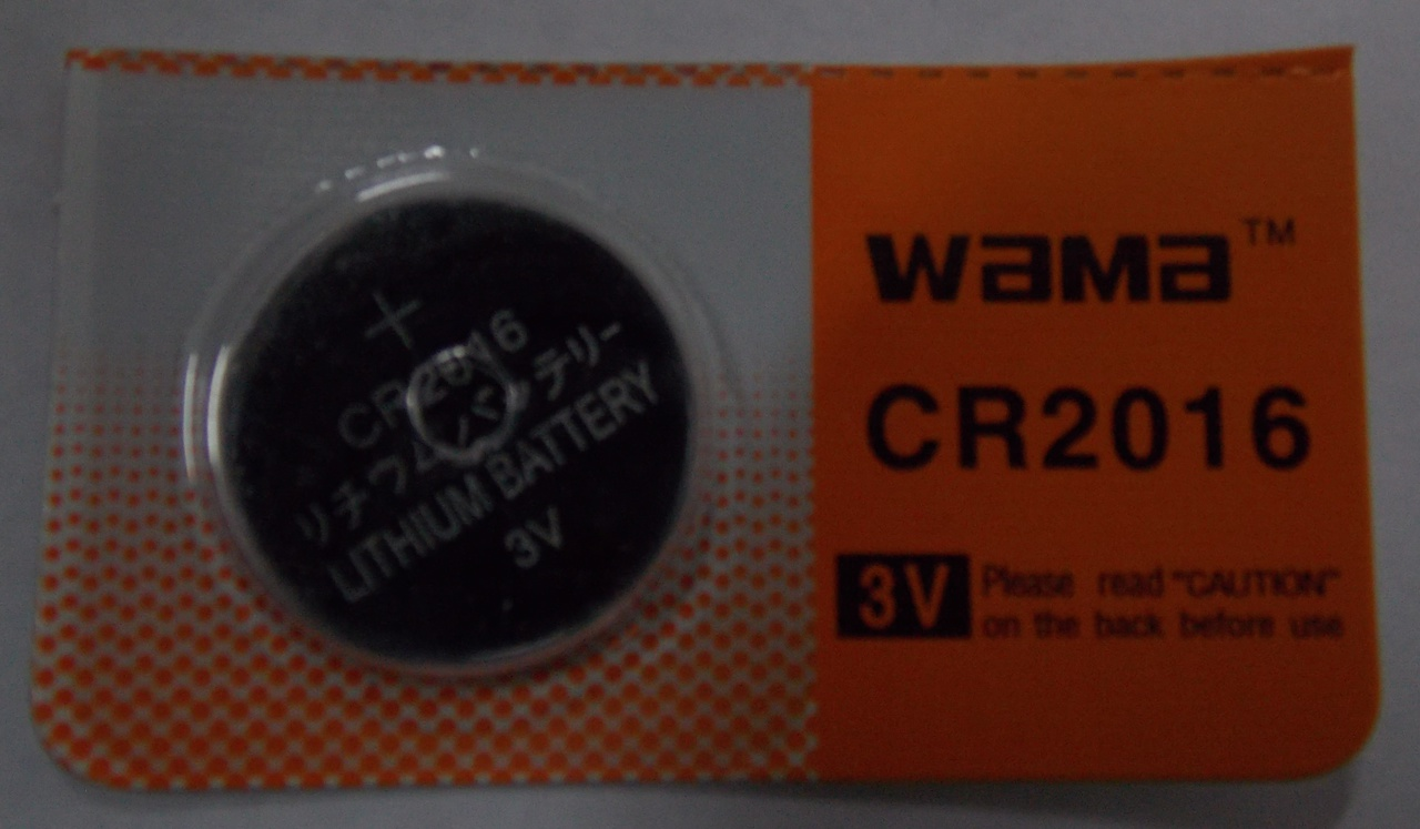 BBW-CR2016 3V Lithium Coin Battery