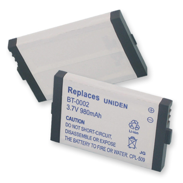 UNIDEN BT0002 LI-ION 980mAh Cellular Battery
