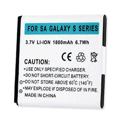 SAMSUNG GALAXY S SERIES LI-ION 1800mAh BATTERY + FREE SHIPPING