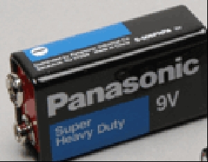 Panasonic 9V Heavy Duty Bulk (Retail Packaging - 2 On A Card)