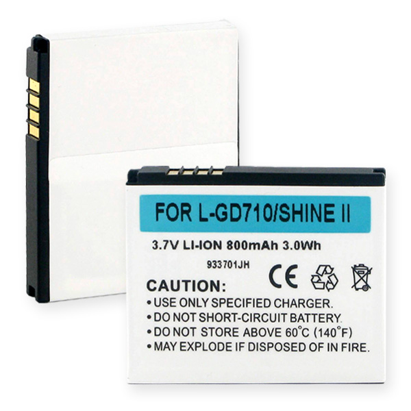 LG GD710 And SHINE 2 LI-ION 800mAh Cellular Battery