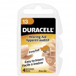 Duracell Activair Hearing Aid Batteries Size 13 - 20 Wheels Of 4 + FREE SHIPPING