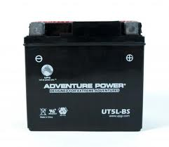 YTX5L-BS 12 Volt 4 Amp Hrs Sealed AGM Power Sport Battery