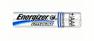 Energizer L92 AAA Lithium Batteries 1.5V