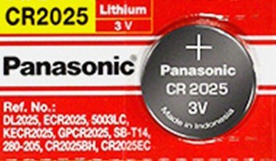 Panasonic CR2025 3V Lithium Coin Battery