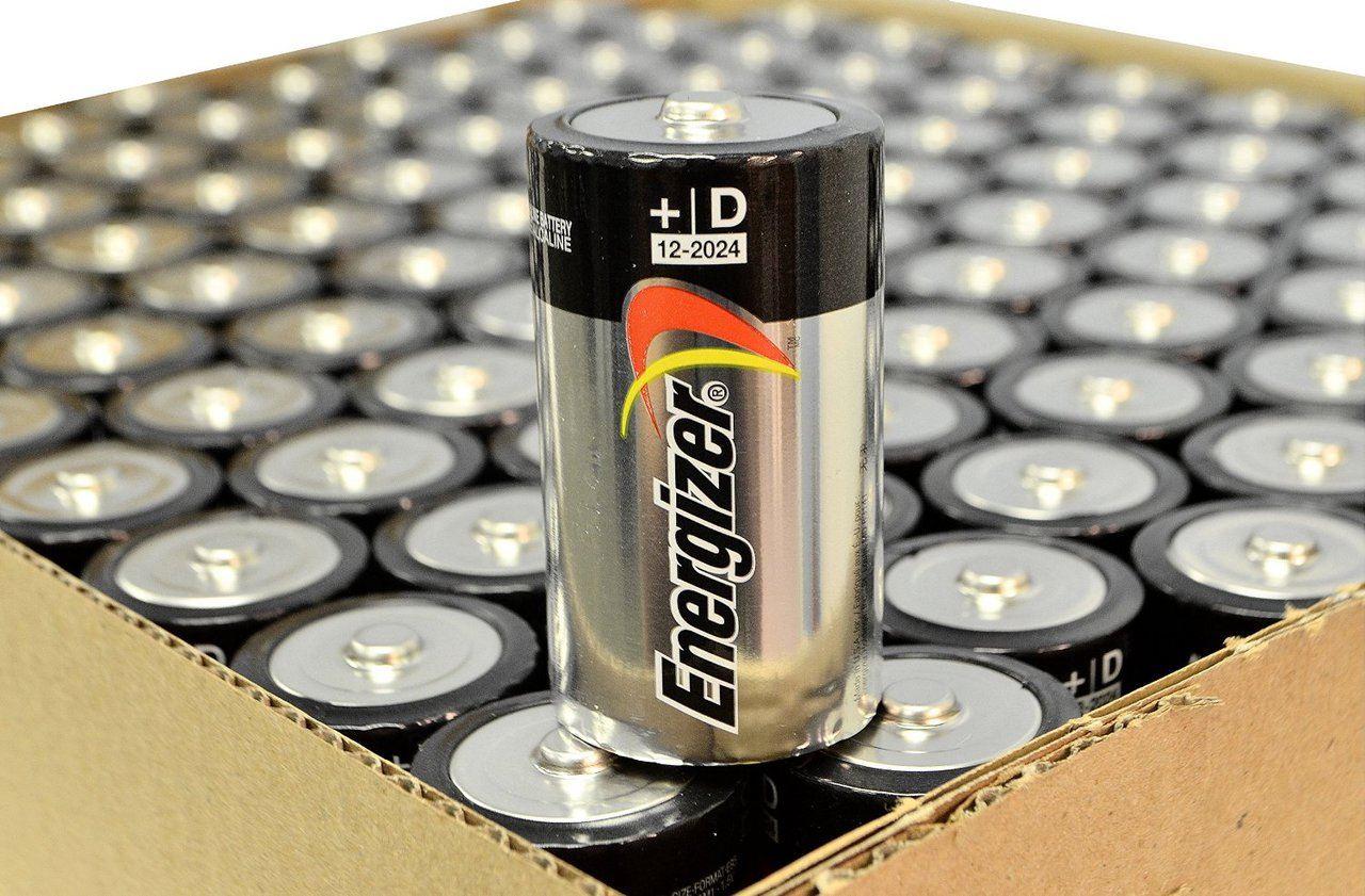 Energizer Max Alkaline D Size Batteries E95VP - 100 Pack + FREE SHIPPING!