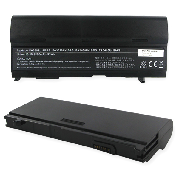 TOSHIBA 10.8V 8800mAh Li-ION Laptop Battery