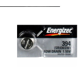 Energizer 394/SR936 Silver Oxide Button Battery 1.55V - 50 Pack + FREE SHIPPING!