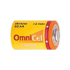 OmniCel 1/2 AA Size 3.6V Lithium Battery 50 Pack + FREE SHIPPING!