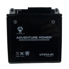 YB9-B 12 Volt 9 Amp Hrs Dry Charge AGM Power Sport Battery
