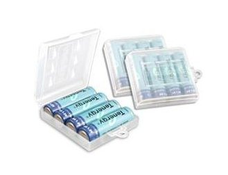 Tenergy 2600mAh AA 1.2V NiMH Rechargeable Batteries - 12 Pack + 3 CASES + FREE SHIPPING!