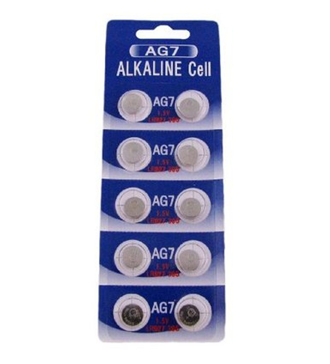 AG7 / LR927 Alkaline Button Watch Battery 1.5V - 500 Pack - FREE SHIPPING