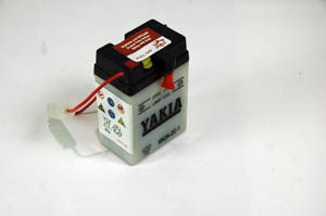 6 Volt 2 AMP Motorcycle And Power Sport Battery (6N2A-2C-1)