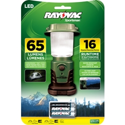 Rayovac LED Mini Lantern With Alkaline Batteries + Free Shipping