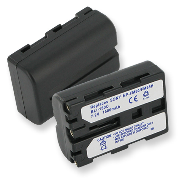 SONY NP-FM50 7.2V 1300mAh Video Battery + FREE SHIPPING
