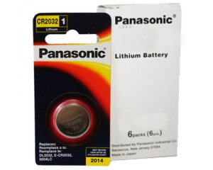 Panasonic CR2032 3V Lithium Coin Battery 100 Pack + FREE Shipping